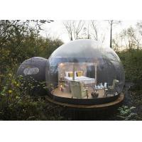 China Crystal Inflatable Bubble Tent House Dome 3M / 4M / 5M Size CE Approved on sale