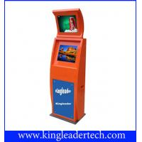 Best Extra Slim Dual Anti-Glare Outdoor Touch Screen Kiosk TSK9003-2D-L wholesale