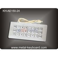 Best Industrial Rugged Metal Kiosk Keyboard with USB and Top panel mounting wholesale