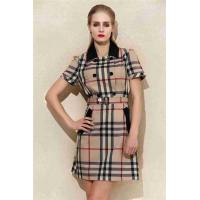 Best Sell Newly Summer womens dresses new clothes Tartan dress Pure cotton classic cloth style wholesale