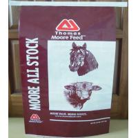 QDCD Durable BOPP Laminated Bags , PP Woven Laminated Bag For Horse Feed