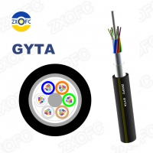Quality 96 Core GYTA Fiber Optical Cable GYTA-96B1.3 Direct Buried Armored Fiber Optical Cable for sale