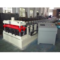 Buy cheap 0.8-1.5mm Steel Composite Floor Decking Sheet Roll Forming Machine from wholesalers