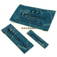 Quality Customized Damask Woven Clothing Labels / Woven Garment Tags High Density for sale