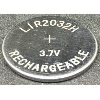 Quality Leakage Proof Lithium Ion Button Cell LIR2032H  70mAh  Longer Service Life for sale