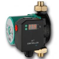 Quality Wilo RS15/6 hot water circulation pump with temperature difference controller for sale