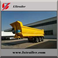 Best Lianshan factory 3 axle steel tipping tipper semi trailer dump trailer wholesale