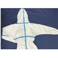 Quality Non - Woven Fabric Safety Disposable Protective Suit Full Body Protection for sale
