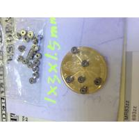 Quality 681ZZ 1x3x1.5mm Miniature Ball Bearings for sale