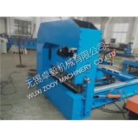 Quality color steel G250Mpa Corrugated Curving Machine with Hydraulic Pressing for sale