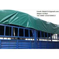 Quality Truck cover coated woven fabric PVC tarpaulin for sale