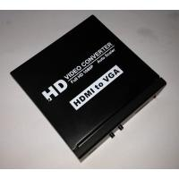 Quality  to VGA + L/R Audio Converter Supports OSD( On Screen Display ) for sale