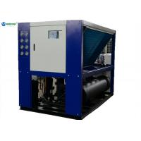 Quality 40 HP -10 degree C Air Cooled Glycol Water Chiller Machine For Soap Die Process Line for sale