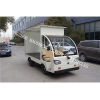 48V Electric Utility Vehicle Semi Convertible Cab Flexible Sterring With Cover