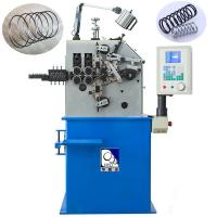 Blue Wire Spring Making Machine230pcs / Min Fast Speed With 100KG Decoiler