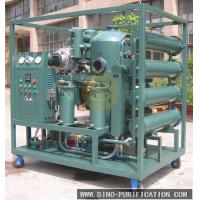 China Vacuum Insulation Oil Recycling Plant Transformer Oil Purification Machine With Degassing / Dehydration on sale