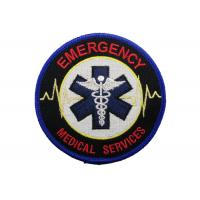 Best Medical Services Embroidery Patch, Custom Embroidery Patches With Iron Glue On Back Side wholesale