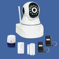 Quality GSM alarm IP camera system supporting TCP/IP internet protocol built-in web server for sale