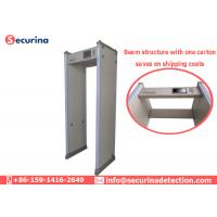 Buy cheap AC100V~240V Walk Through Metal Detector Gates 45 Zones With Directional Counter from wholesalers