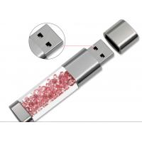 Quality Customised   8GB 3D Usb 3.0 Mini Usb Flash Drive Glass Crystal  3MB To 8MB/S for sale