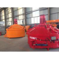 Quality 110kw Mixing Power Planetary Concrete Mixer 3000L Output Capacity Low Noise Rotation for sale