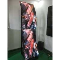 Quality 178° 400cd/m2 3mm 1920x1080 Floor Stand Digital Signage for sale