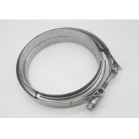 China Universal 3.5 25mm Stainless Steel Exhaust Clamps on sale