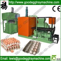 Quality Paper egg tray pulp moulding machine for sale