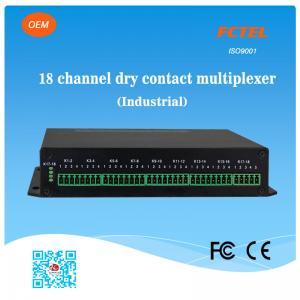 Quality 16chs Single Mode Fiber Data Storage Dry Contact Closure for sale