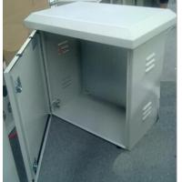 Quality Powder painting RAL7035 enclosures with venting holes for sale