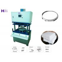 Quality Square Cardboard Bottom Cake Tray Forming Machine 10 Pcs / Minute 0.05KW for sale