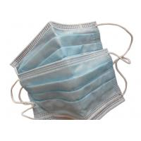 Quality Civilian Disposable Dust Masks , 3 Ply Disposable Mouth Mask Non Toxic for sale