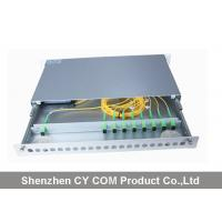 Quality 19 Inch Wavelength Division Multiplexer Module Rack Mounted Slidable Type Metal for sale