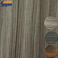 China Embossed 0.4mm PVC Furniture Film For Cabinet Cover , ROHS Listed on sale