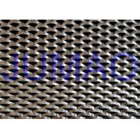 Quality Shopping Hall Stainless Steel Expanded Metal Triangle Holes Security Mesh for sale