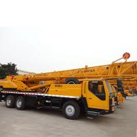 China Yellow  QY20G.5 XCMG Telescopic Boom Crane Smarter 20 Ton WD615.92E on sale