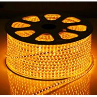 Quality LED Strips SMD5050 60pcs yellow color warterproof white double PCB 3M adhersive CE EMC for sale