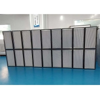 Quality Galvanized Steel Frame HEPA Filter With Aluminum Foil Separator for sale
