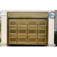 Quality Automatic Sectional Garage Door Timber Color For Residence for sale
