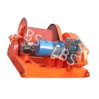 China 10 Ton Electric Winch Machine With Lebus Groove Drum / Electric Crane Winch on sale