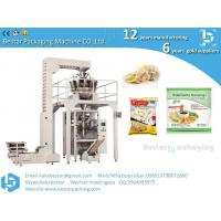 China Frozen ravioli frozen dumplings large pouch packing machinery with scale weighers metal detector on sale