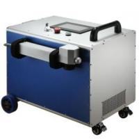 Buy cheap 100W 200W Metal Fiber Laser Cleaning Machine Mini Laser Rust Removal Machine from wholesalers