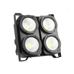 Quality Multi Colored 4x100W COB Led Blinder Light Studio Blinder OEM / ODM Available for sale