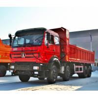 Quality 8x4 Heavy Duty Dump Truck 4 Axle 12 Wheel 380HP / 273KW Max Horse Power for sale