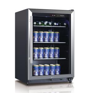 Quality BEVERAGE COOLER 131L BLACK LED DISPLAY for sale