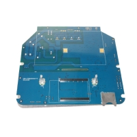 Quality 2OZ LPI Blue FR4 0.057 Inch 370HR Quick Turn PCB for sale