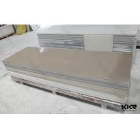 Best Kitchen / Bathroom Acrylic Marble Sheet Solid Surface Stone Tiles Seamless wholesale