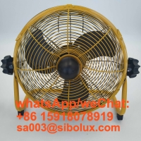"""Quality 12"""" Electric Battery Rechargeable fan /12 inch Ventilador recargable al aire libre With 24V AC adapter for sale"""