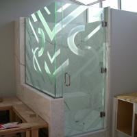 Quality China high quality safety tempered glass shower door supplier for sale