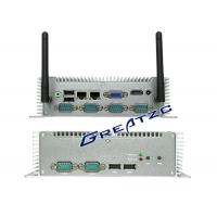 Best I5 3337u CPU Mini PC Computer , 6 COM RS232 RS485 RS422 Small Industrial PC wholesale